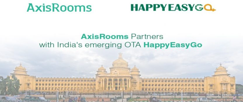 AxisRooms partners with HappyEasyGo to attract more guests for its hotel partners