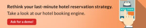 How to improve last-minute online hotel booking